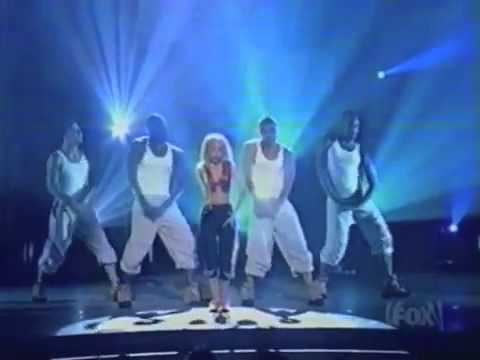 Christina Aguilera Genie In A Bottle Teen Choice Awards