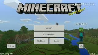 como jogar minecraft PE com teclado e mouse