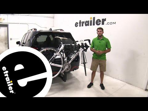 Thule Hitching Post Pro Hitch Bike Racks Review - 2019 Subaru Forester - etrailer.com