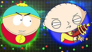 STEWIE GRIFFIN & ERIC CARTMAN PLAY AGARIO! (Agario Trolling/Agario Funny Moments) thumbnail