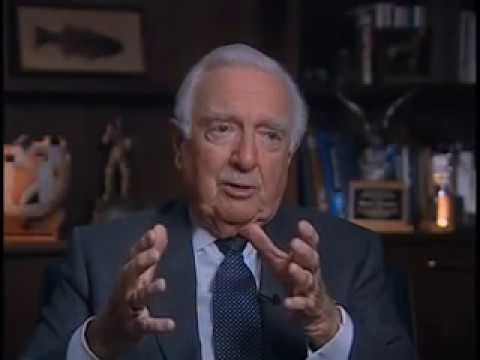 Walter Cronkite - on his on-air commentary about the Vietnam war