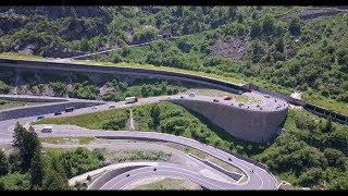 Швейцария на автодоме, Чёртов мост и горные перевалы часть 4. #автодом #швейцария #путешествия