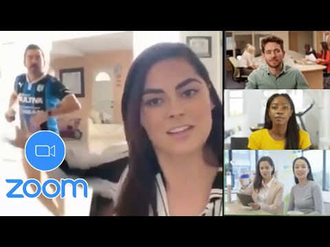 ZOOM VIDEO CALLS GONE WRONG! (Hilarious Zoom Fails)