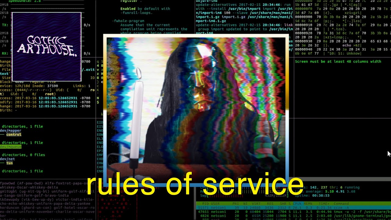 rules of service | short horror film (2020)