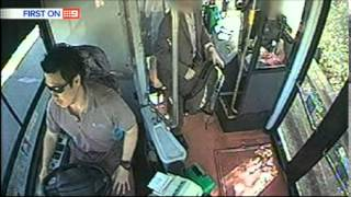 Nine News Sydney: Sydney Bus Cam Footage Released (1/9/2014)