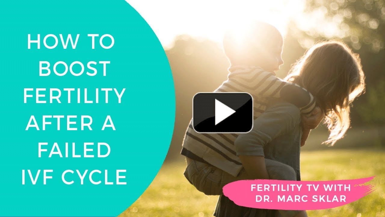 Can you get pregnant naturally after failed ivf