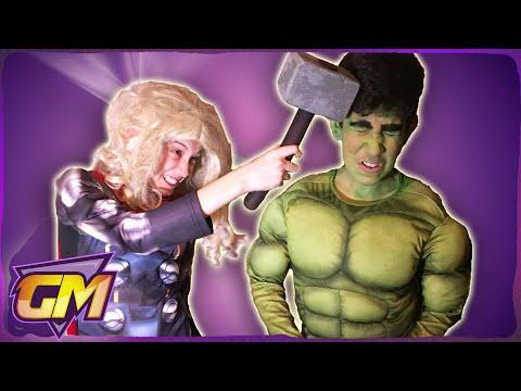 HULK VS THOR  Diss Track (Me Too Parody) - Super Hero Song