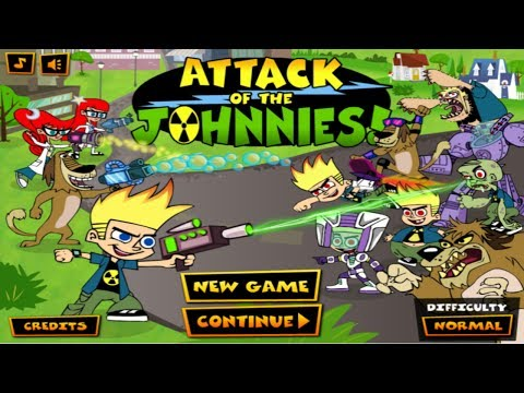 Cartoon Network Games: Johnny Test - Attack Of The Johnnies