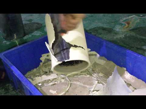 recycling silver block