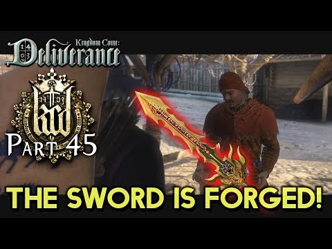 THE SWORD IS FORGED! [#45] Kingdom Come: Deliverance with HybridPanda
