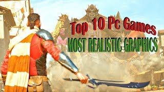Top 10 Realistic Pc Games realistic graphics games || High End Pc Games || Ak Productions