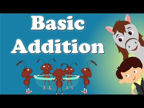 Basic Addition for Kids  #aumsum #kids #education #science #learn