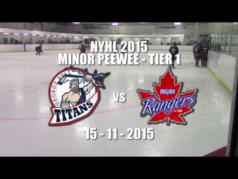 Titans vs Vaughan Nov 15 2015