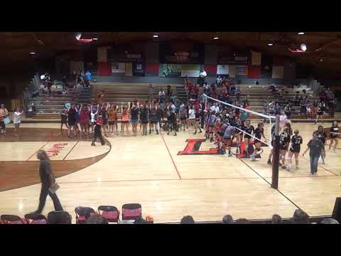 Lake Travis Middle School vs Hudson Bend VolleyBall 2015