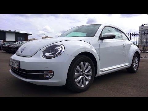 2015 Volkswagen Beetle. Обзор (интерьер, экстерьер, двигатель).