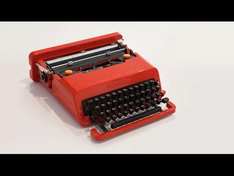 Design Museum film shows Valentine Typewriter travelling across London