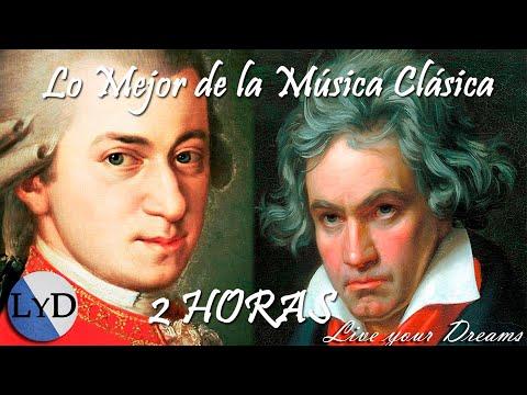 2 HORAS de la Mejor Música Clásica - Mozart, Beethoven, Bach ... Música Clásica Piano Violin