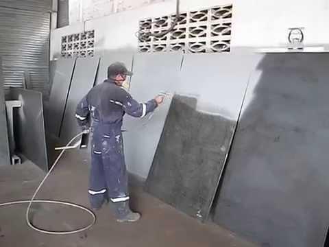 Pulverizador de pintura epoxi en metal 0416 4998962 - Pinturas para metal ...