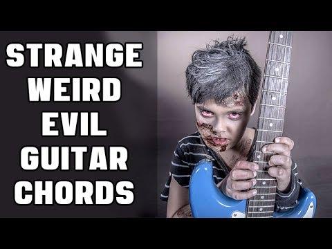 Easy Way to Make Strange Weird Evil Guitar Chords
