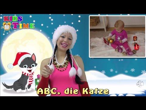ABC die Katze lief im Schnee | Kinderlieder zum Mitsingen | Lagu anak anak di jerman