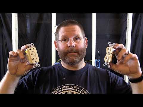 how to wire a gfci and receptacle