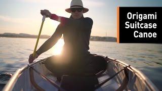 Meet ONAK, the Origami Canoe