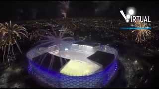 Puebla vs Boca Juniors inauguración nuevo estadio poblano