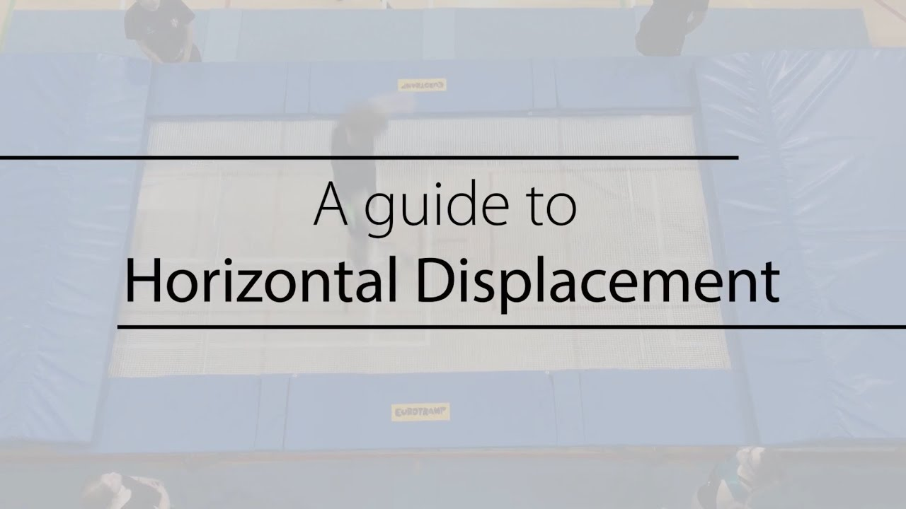 how to find horozontal displacement