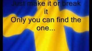 Sweden: Charlotte Perrelli - Hero (lyric)