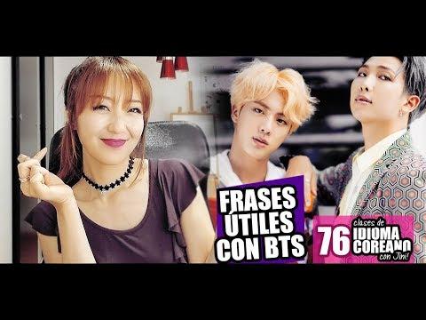 FRASES ÚTILES En Coreano Con Canciones De BTS + SORTEO 500K - JiniChannel