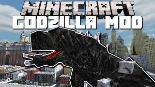 Minecraft GODZILLA MOD IN NEW YORK CITY!! (LAST MONSTER STANDING) Mod