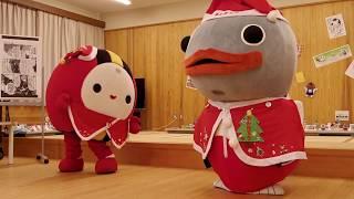 あんたろうちゃんとなるまちゃん ラジオ体操 なかやま山芋まつり 2017年