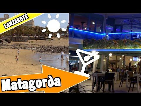 Matagorda Lanzarote Spain: Beach, resort and nightlife