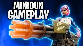 MINIGUN GAMEPLAY! NEUE WAFFE! | Fortnite: Battle Royale