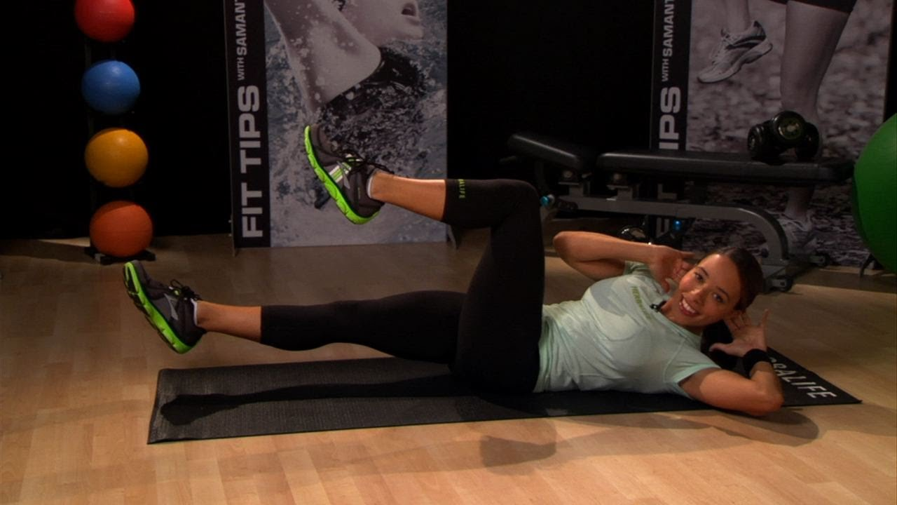 Get your best abs ever with Samantha Clayton's core workout | Herbalife Fit Tips