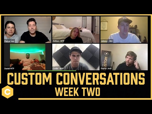 Dealing with Disappointment | Custom Conversations [Week 2]