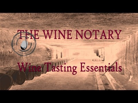 The Wine Notary - Wine Tasting Essentials Video-Course (Subtitled)