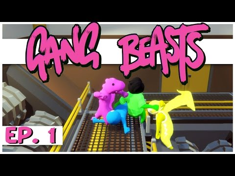 Gang Beasts Online Multiplayer - Ep. 1 - Gang Beasts Multiplayer Gameplay!