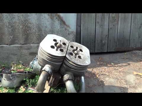 Необычный двигатель из металлоприёмки #1