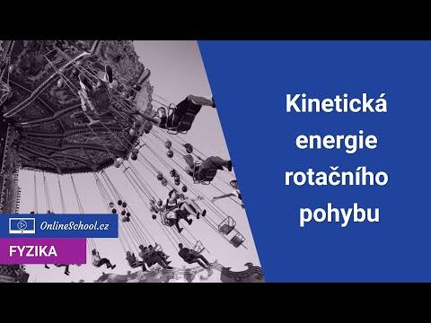 Kinetická energie rotačního pohybu | 5/10 Práce a energie | Fyzika | Onlineschool.cz