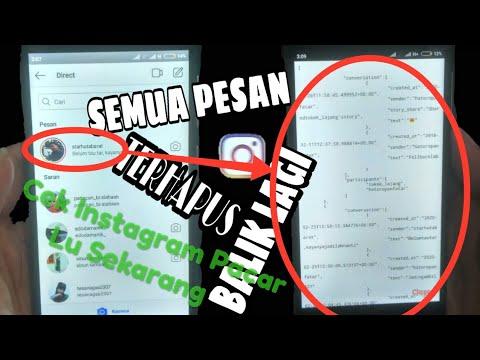 Cara Melihat DM (Direct Message) Instagram Di PC Terbaru Tanpa Aplikasi Tambahan !!!.