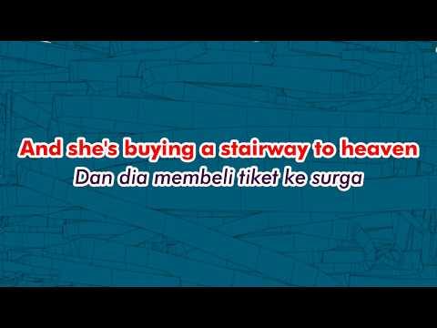 Led Zeppelin - Stairway To Heaven Lirik Dan Terjemahan Bahasa Indonesia