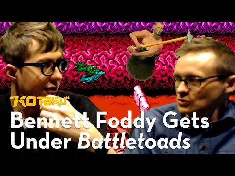 Bennett Foddy Gets Under It With Tim Rogers: The Turbo Tunnel From Battletoads (1991)!