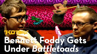 Bennett Foddy Gets Under It With Tim Rogers The Turbo Tunnel From Battletoads 1991