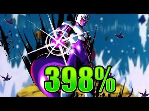 Cooler 398% Showcase || Dragon Ball Legends