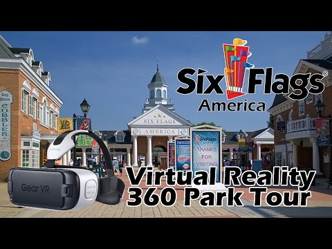 Six Flags America 360 Virtual Reality Tour