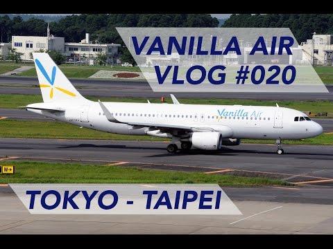 Vanilla Air Flight Tokyo Narita to Taipei - Low Budget | INFLIGHT EXPERIENCE [1080p60]