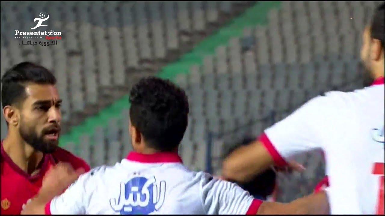 اشتباكات عنيفة بين عمرو السولية وحمدي النقاز وجنش