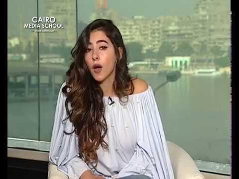 "Fatma Alzahraa Khaled - Presenting Talk Shows October "" Ramy Radwan """
