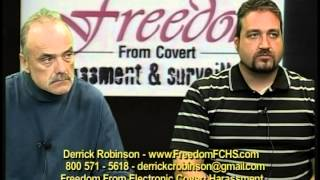 Ron Gillman, Curtis Kimble, Derrick Robinson Freedom From Covert Electronic Harassment, AllDayLive